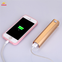 OOBEST 4200mah External Battery Pack Portable Aluminum Power Bank for iPhone iPad Xiaomi Samsung LG Android with SOS Flashlight