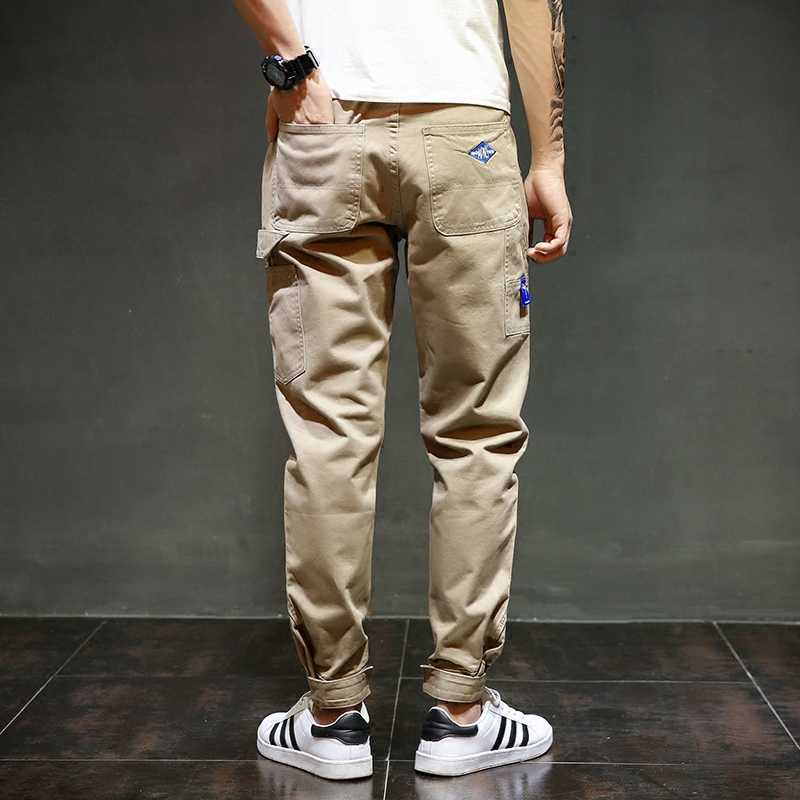 Mode Streetwear Jugend Herren Jeans Jogger Hosen Gelb Farbe Boot Cut Slim Fit Bein Marke Knöchel Banded Hosen Gebunden Jeans männer