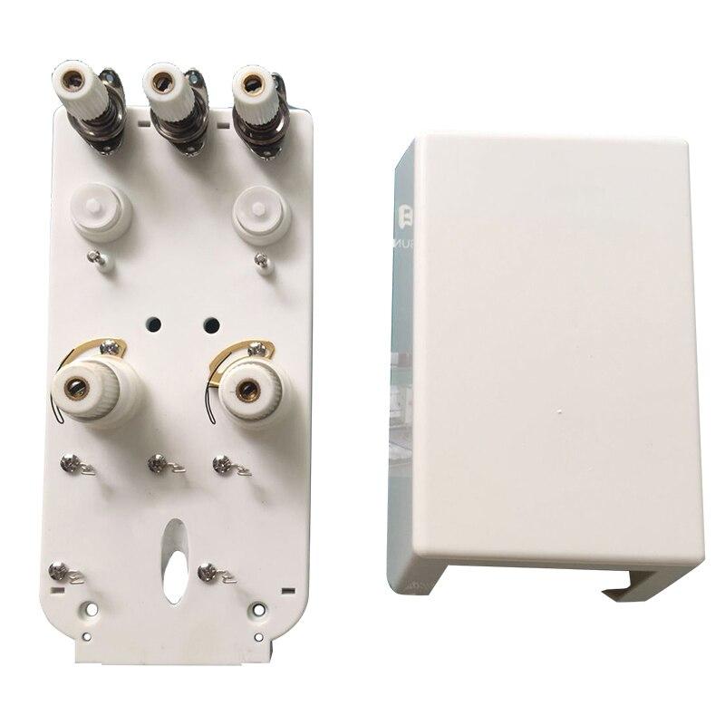 Computer Stickerei Maschine Teile Zwei-nadel Spann Gewinde Montage Mit Bottom überprüfen Kopf Inspektion Alarm Box Weiß