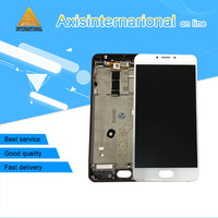 Axisinternational LCD Screen Display Touch Panel Digitizer With Frame For 5 5 Meizu U20 White Black