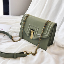 Female Crossbody Chain Bag For Women 2019 Quality PU Leather Luxury Handbag Designer Sac Main Ladies Lock Shoulder Messenger Bag