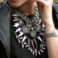 Newest Design Brand Chunky Fashion Necklace Vintage Choker Statement Necklace For Women Fashion Necklaces Pendants Jewelry