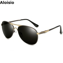 Aloisio Men Sunglasses New Style Polarized Glasses Mirror Driving Oculos Eyewear Pilot Lunette Las Gafa Brand Designer AL706