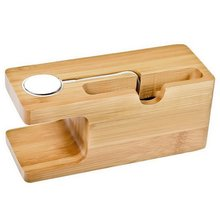 Wooden Charging Dock Station Multi-Function for Mobile Phone