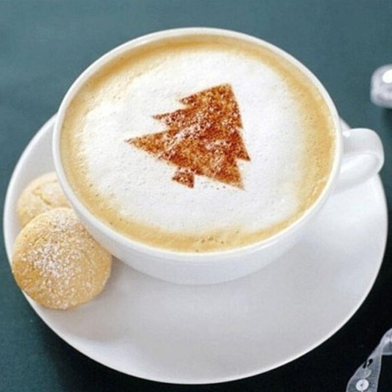 Kaffee DIY Dekoration Schablone Latte Vorlagen Werkzeug Kuchen ...