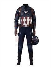 Kapitán Amerika: Občanská válka Kapitán Amerika Steve Rogers Cosplay kostýmy mp003198
