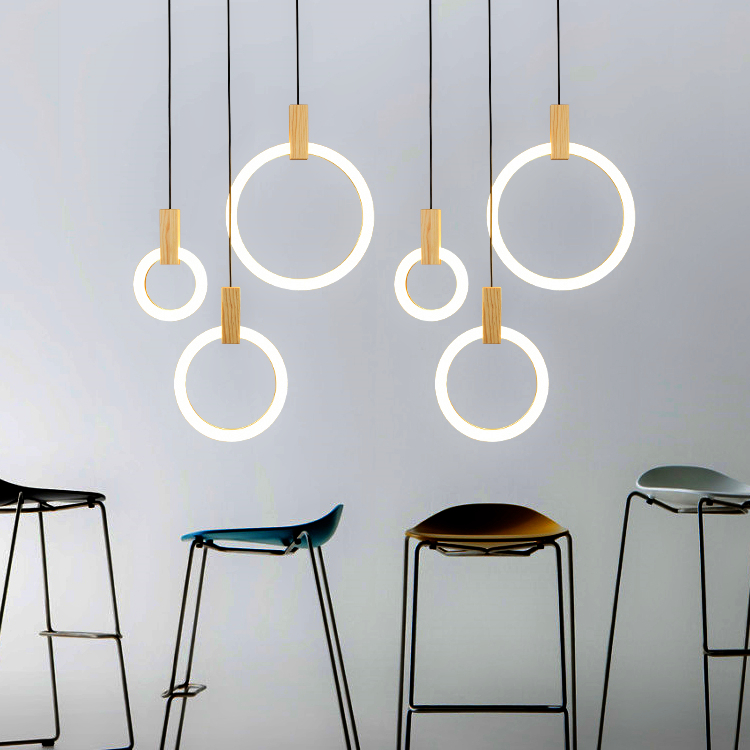 Lights & Lighting Led Modern Chandelier Novelty Fixtures Nordic Hanging Lights Restaurant Pendant Lamps Bedroom Lighting Living Room Chandeliers Ceiling Lights & Fans