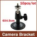 10 Unidades/lotes, Mini suporte De Montagem Na Parede ou Suporte Para Câmera De Segurança CCTV