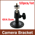 10Pcs/lots, Mini Wall Mount support or CCTV Bracket For Security Camera