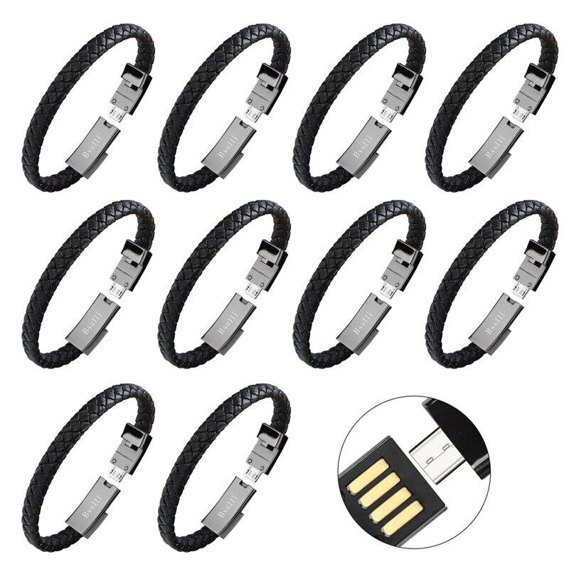 10 pcs usb câble ligne de données fil chargeur adaptateur de charge pour iphone 6 X xiaomi mi 8 huawei mate 10 smartphone rapide 3.0