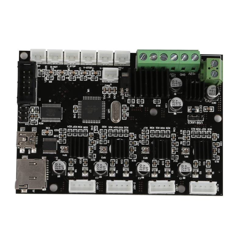creality 3d cr-10 500*500*500mm Replacement Mainboard/motherboard Control board For CREALITY cr 10 3D Printer Original Supply цена