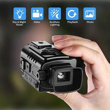 ZIYOUHU Pocket Sized HD Digital Night Vision Monocular Infrared Camera Video Image Records Scope for Hunting