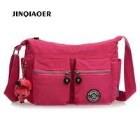Women Shoulder Casual Bags Waterproof Nylon Lady Sling Messenger Bag Female CrossbodyBags For Women Handbags Free