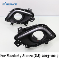 SMRKE DRL For Mazda 6 Mazda6 Atenza GJ 2013 Present Car LED Daytime Running Lights With