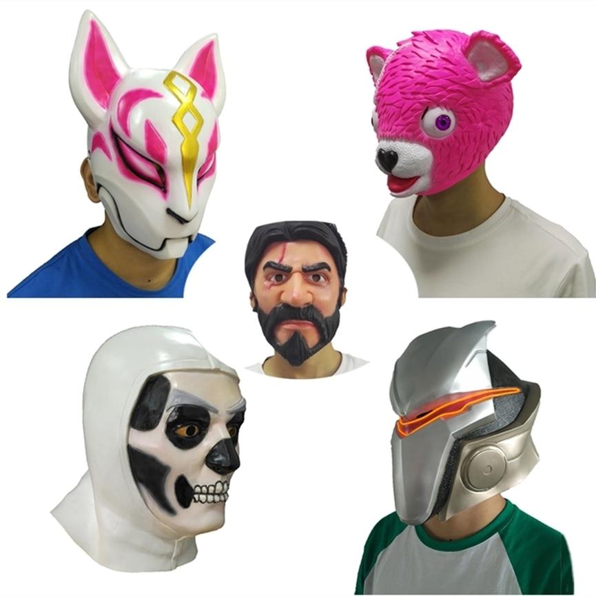 Latex Mask Cuddle Team Leader Mask Cosplay Funny Animal
