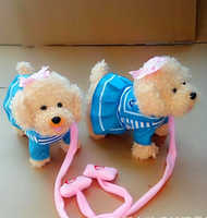 Funny Electronic Dog Pet Singing Walking Musical Plush Pet Robot Dog Toys Interactive Toys For Kids Baby
