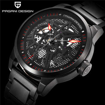 PAGANI DESIGN Top Brand Luxury Men Full Steel Mechanical Watches Sport skeleton Automatic Self-Wind Men's Watch montre homme - DISCOUNT ITEM  48% OFF All Category