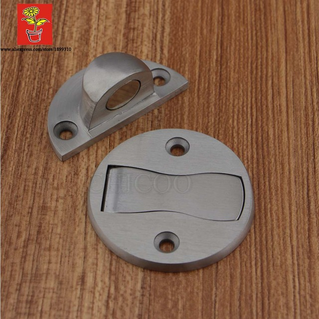 Charmant CHICOO Home Decoration Stainless Steel 304 Door Stops Magnetic For Wood  Floor Mount Satin Color Safety