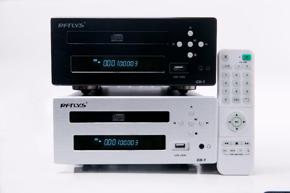 CD1 fever CD player U disk headphone balanced output port CD turntable desktop CD hard disk play