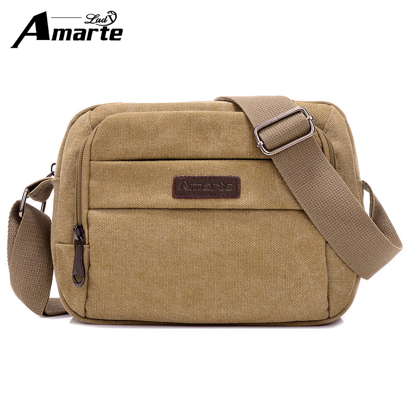 Amarte 2017 fashion mens shoulder bags high quality Men bag oxford casual  messenger bag business men s travel bags 76ab70e8467db