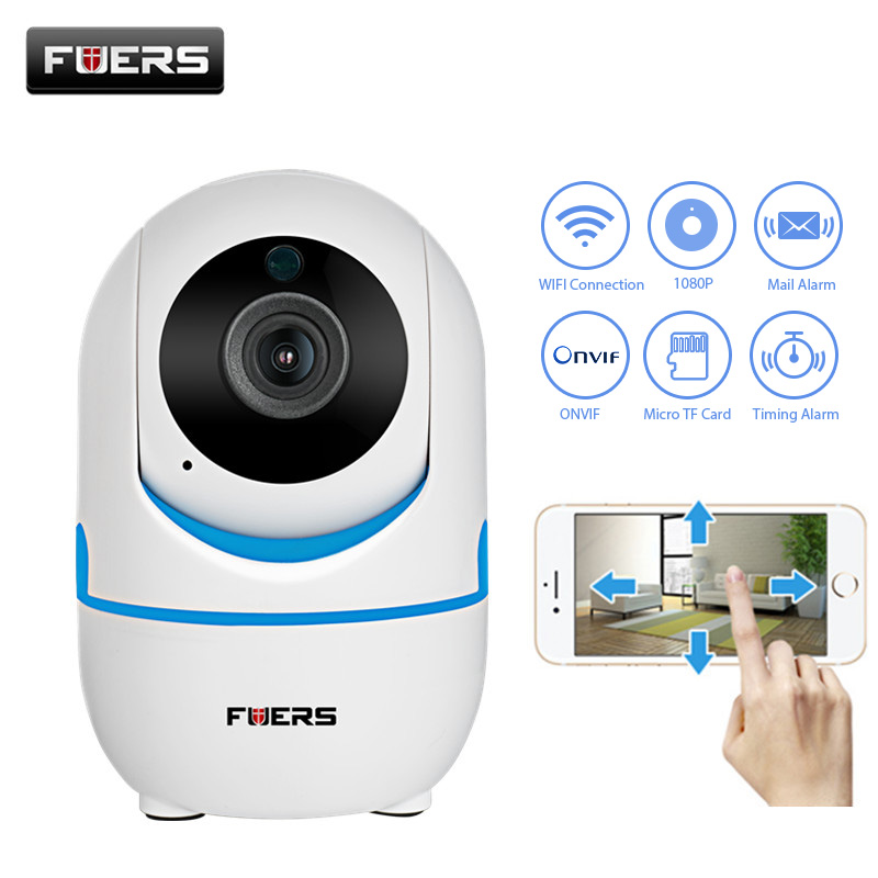 Fuers Mini Wireless Dual HD 720P 1080P IP Camera 2.0MP WIFI IP Camera Mail Alert Alarm P2P CCTV Onvif Surveillance Camera IR-CUT все цены