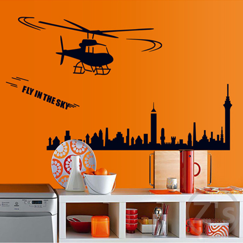 Helo wall stickers for kids rooms boys wallpaper sticker for Wallpaper decals
