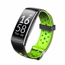 Q8 banda Inteligente IP67 A Prueba de agua Pulsera Inteligente perseguidor de La Aptitud Del ritmo Cardíaco reloj de Pulsera Inteligente Usable dispositivos Para IOS Android
