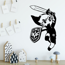 Creative legend of zelda Home Decoration Accessories Nursery Room Decor Wall Art Decal