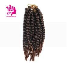 New Havana Mambo Twist Crochet Braid Hair 12 2cm pack Crochet Ombre Braid Hair Twists Braiding