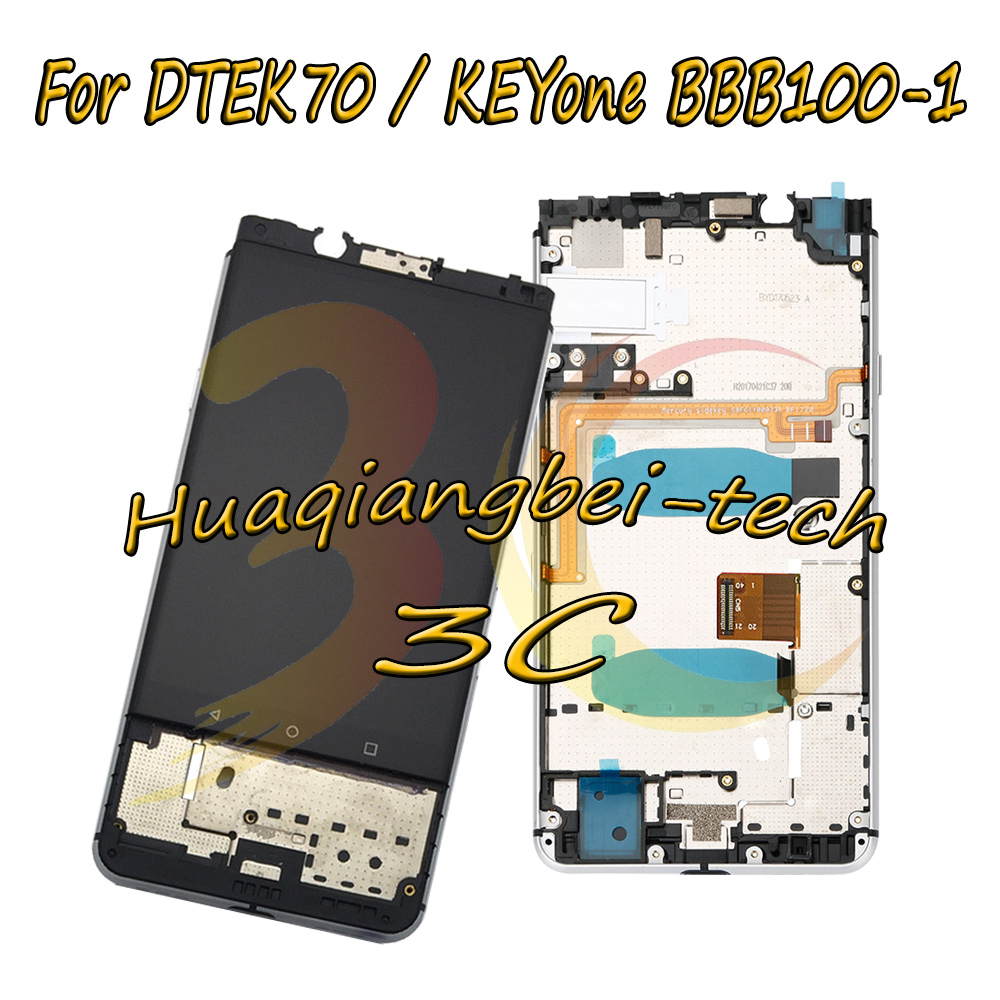 New 4.5 For BlackBerry DTEK70 / KEYone BBB100-1 BBB100-2 BBB100-5 LCD DIsplay + Touch Screen Digitizer Assembly + Frame CoverNew 4.5 For BlackBerry DTEK70 / KEYone BBB100-1 BBB100-2 BBB100-5 LCD DIsplay + Touch Screen Digitizer Assembly + Frame Cover