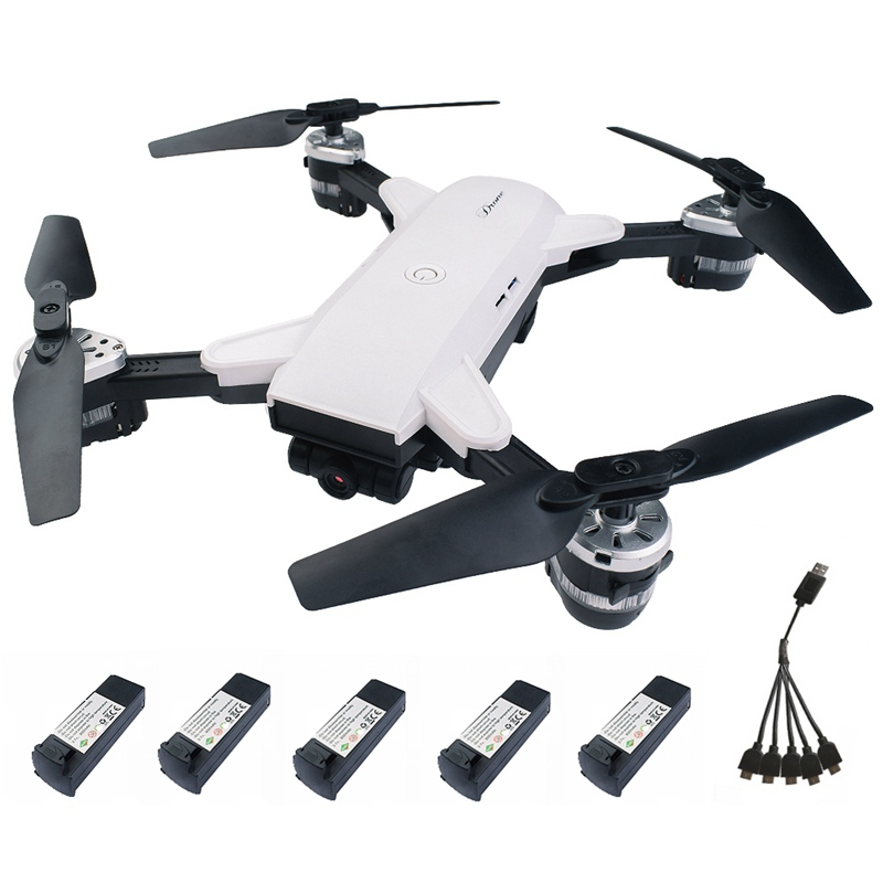 19HW RC Drones With Wifi FPV Wide-angle 2MP Camera Selfie Foldable MINI RC Helicopter Altitude Hold Mode Quadcopter VS XS809hw yh 19hw wifi fpv 2mp camera foldable 2 4g 4ch selfie quadcopter drone rc toys gifts
