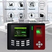 Фингерпринта Системы TCPIP USB биометрический Клавиатура доступа времени сотрудников офиса машины