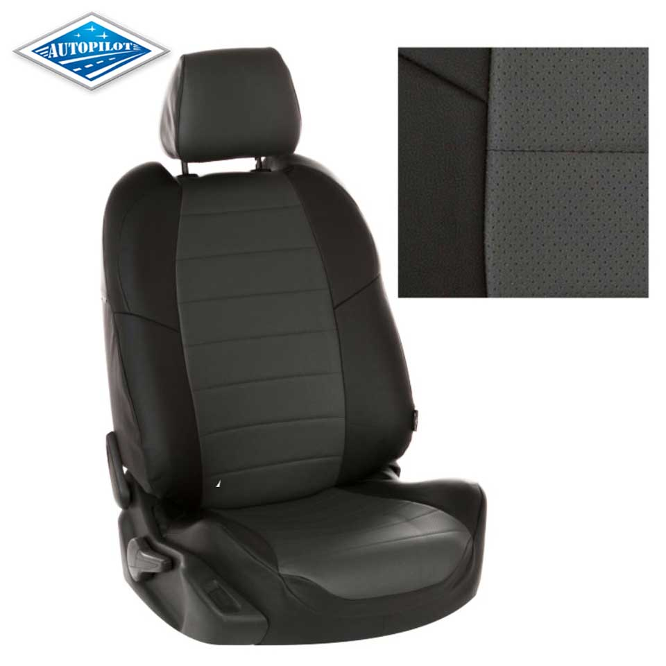 For Nissan Qashqai J11 2014-2019 special seat covers full set Autopilot Eco-leather for nissan terrano 2017 2019 special seat covers with separate backrest 60 40 full set autopilot eco leather