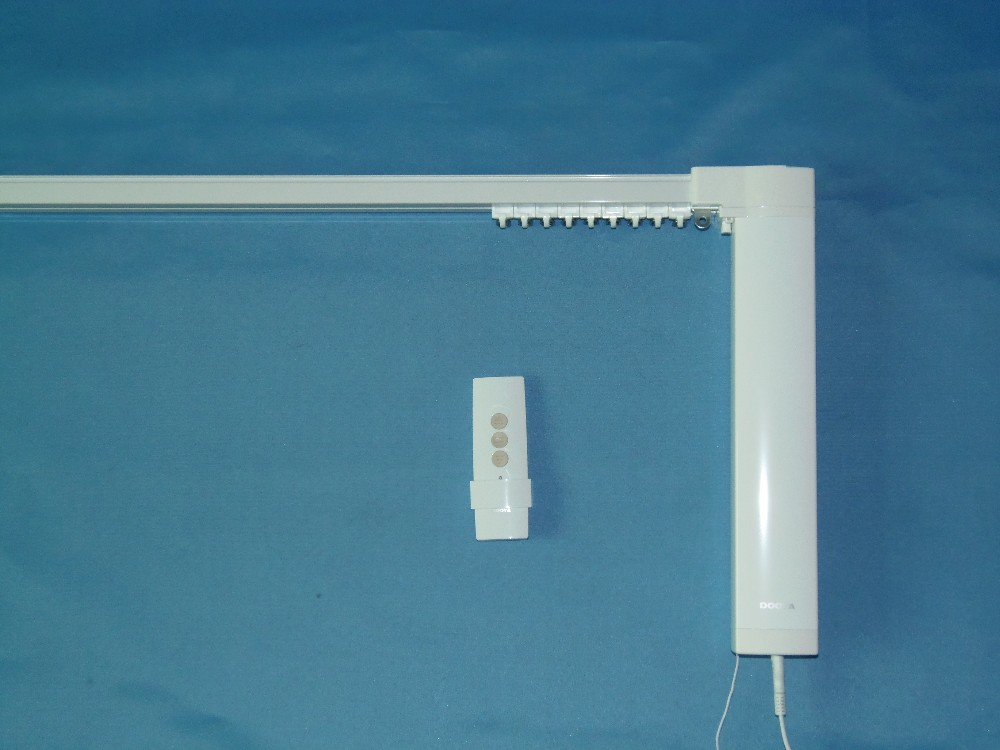 Trilha da cortina motorizada SILENCIOSO, smart home usado cortina motorizada, DOOYA motor DT82TV, FRETE GRÁTIS