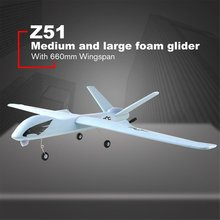 Z51 Predator 2.4G 2CH 660mm Wingspan Remote Control RC Airplane