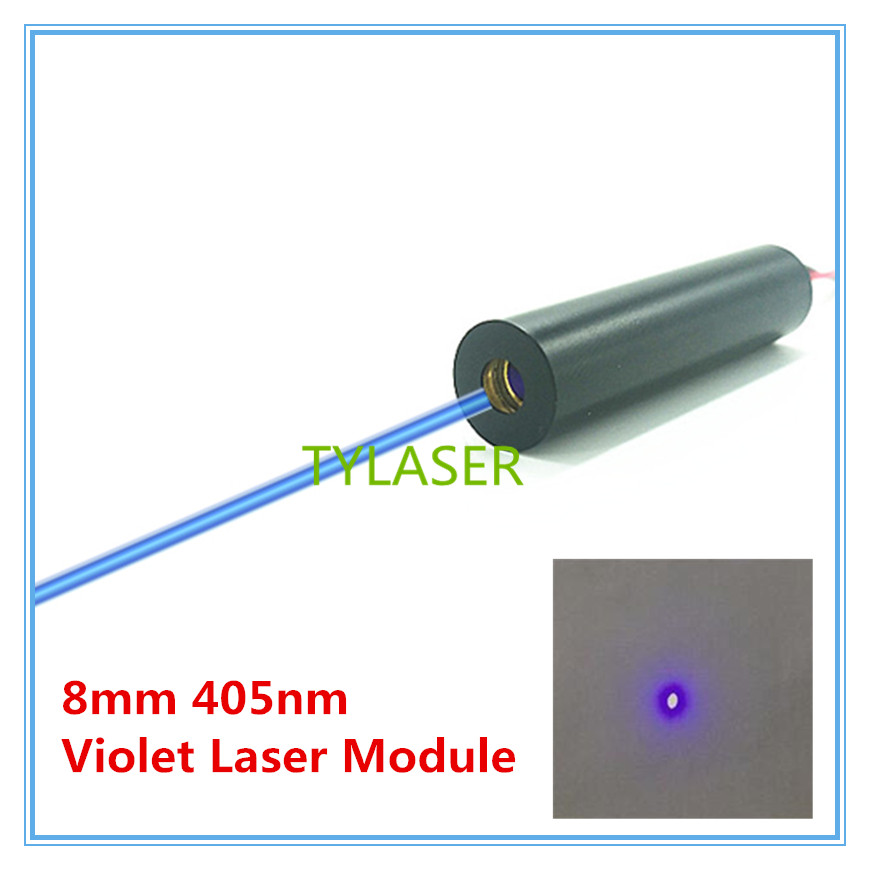 8mm 405nm Glass Lens 1mw 5mw 10mW 50mw Blue Laser Module Industrial Grade TYLASERS