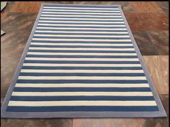 Stylish, Modern Living Room Coffee Table Color Striped Sofa Bed Bedroom Carpet  Custom Handmade Acrylic Carpet