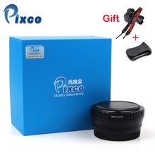 Pixco M42 M 4/3 Focal Reducer Speed Booster adapter M42 Objektiv für Micro 4/3 kamera + Kamera objektiv Kappe U Clip + Kamera Riemen