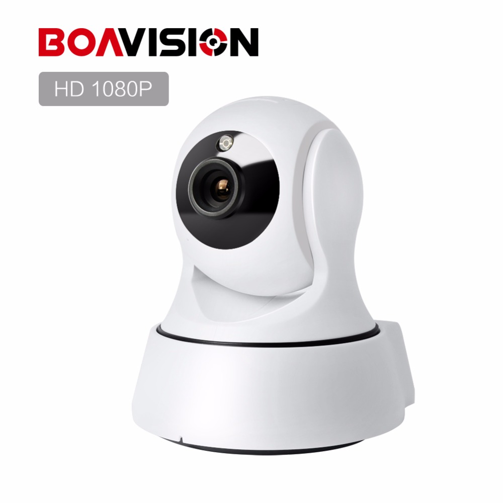 Boavision 1080P WIFI IP Camera Wireless PTZ IR-Cut Night Vision Two Way Audio HD 2MP CCTV Surveillance Camera P2P Cloud APP View