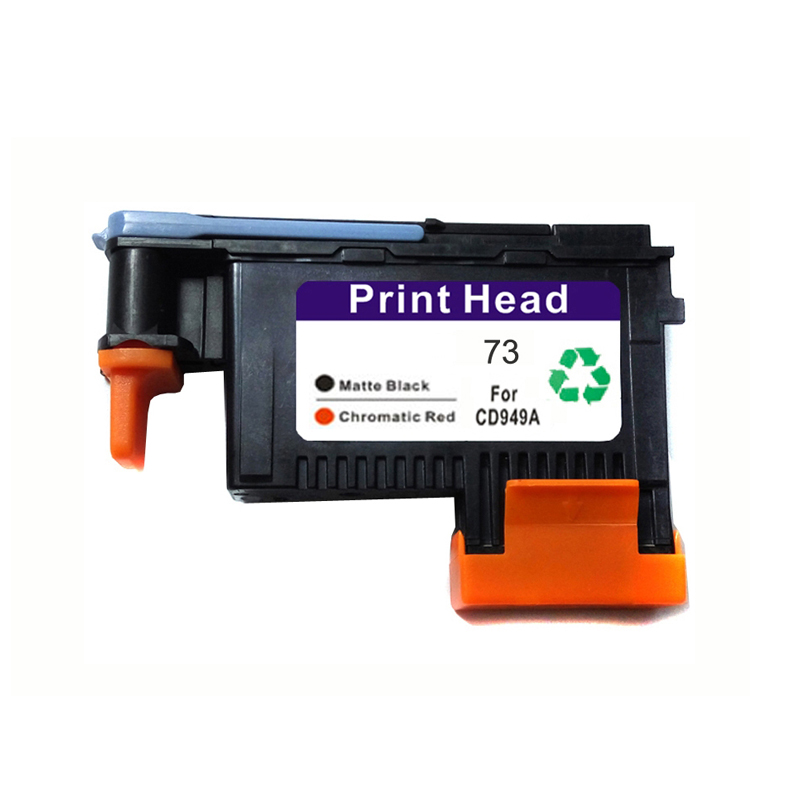 Vilaxh CD949A Printhead Replacement For HP 73 Designjet Z3200 Printer Chromatic Red Matte Black Print Head