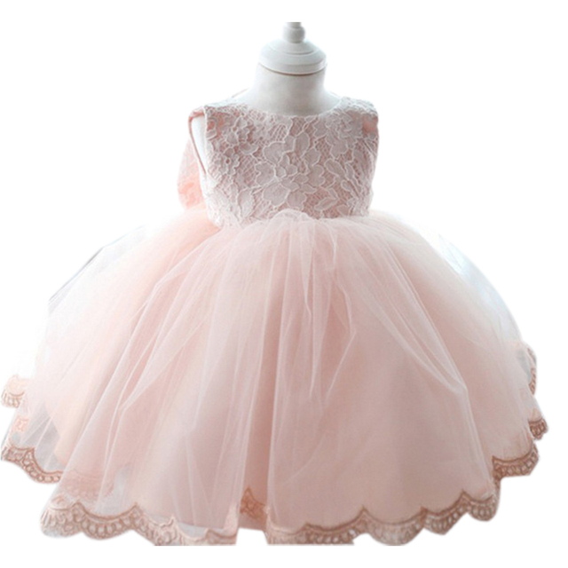 Hot New Infant Baby Girl Tutu Dress vestidos Kids Cute Lace Flower Summer Party Princess Dresses baby girl Christmas Clothes