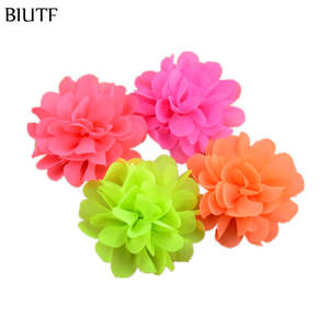BIUTF 120pcs/lot girls Hair Flowers Floral Kids Accessories