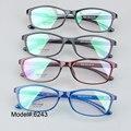 6243 4 Цвета площадь унисекс рецепт очки близорукость очки RX оптических оправ очков
