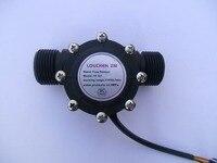 DN25 Pipe G1 Flow Range 2 100L Min Water Flow Sensor Hall Sensor Heater Accessories Water