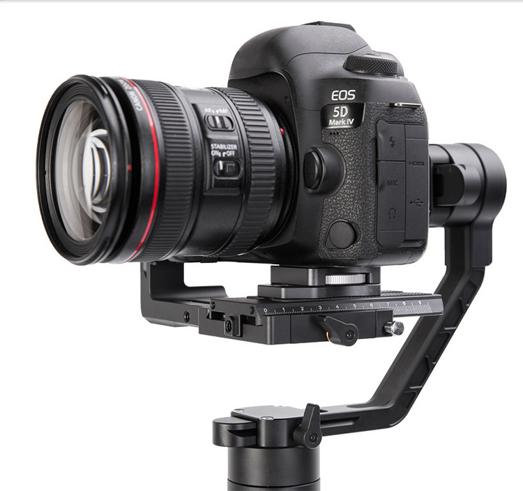 DJI Ronin S Handheld Gimbal Stabilizer Increased Pad Riser Board Quick Release QR Plate for Zhiyun Crane 2 Gimbal Accessories 1