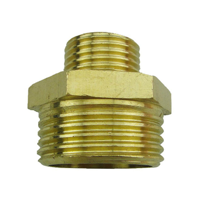 1 inch garden hose. Brass 1 Inch To 1/2 Male Connectors Hom Garden Hose Pipe Adapter Fitting A
