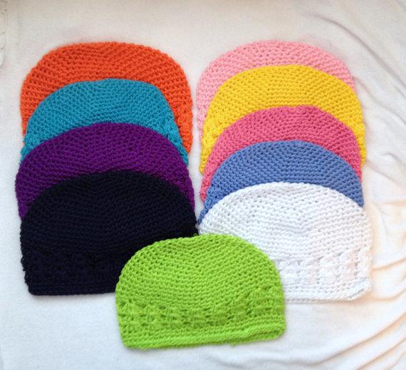 2000 pçs lote chapéu de crochê kufi chapéus menina boné de crochê bebê  gorro tampas kufi criança bebê knited gorros 21 cores para escolha em Toucas  e Bonés ... 5a5c734c095