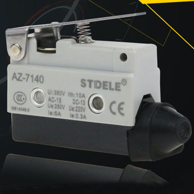 TZ AZ 7140 Travel Limit Switch Micro Switch Self-resetting One Open And One Close tz me 8111 travel switch limit switch self resetting micro switch one open and one close