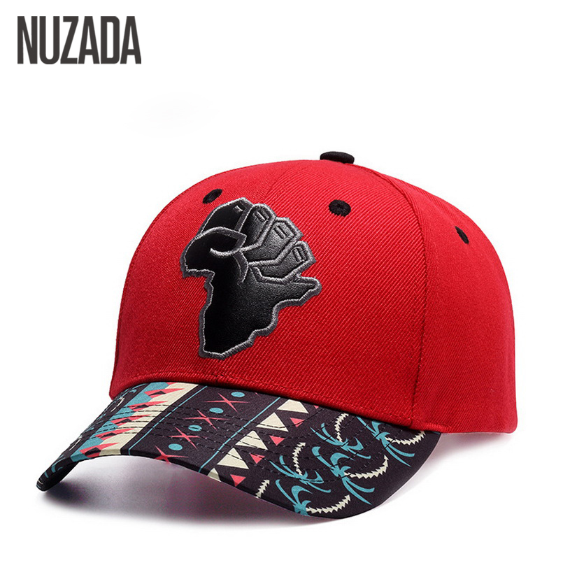 Brand NUZADA Hip Hop Hats Couple Baseball Caps For Men Women Embroidery Printing Snapback Bone Casual Paste PU Leather Cap brand nuzada snapback summer baseball caps for men women fashion personality polyester cotton printing pattern cap hip hop hats