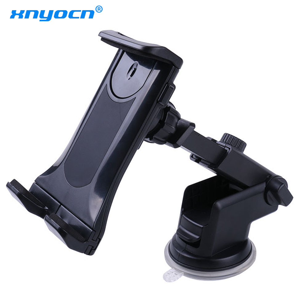 Large Sucker 360 Rotation 7~10.5 Car Tablet Holder Mount Stand Stents for IPad Mini 2 3 4 Air 2 for Samsung S8 S9 XiaoMi ASUS
